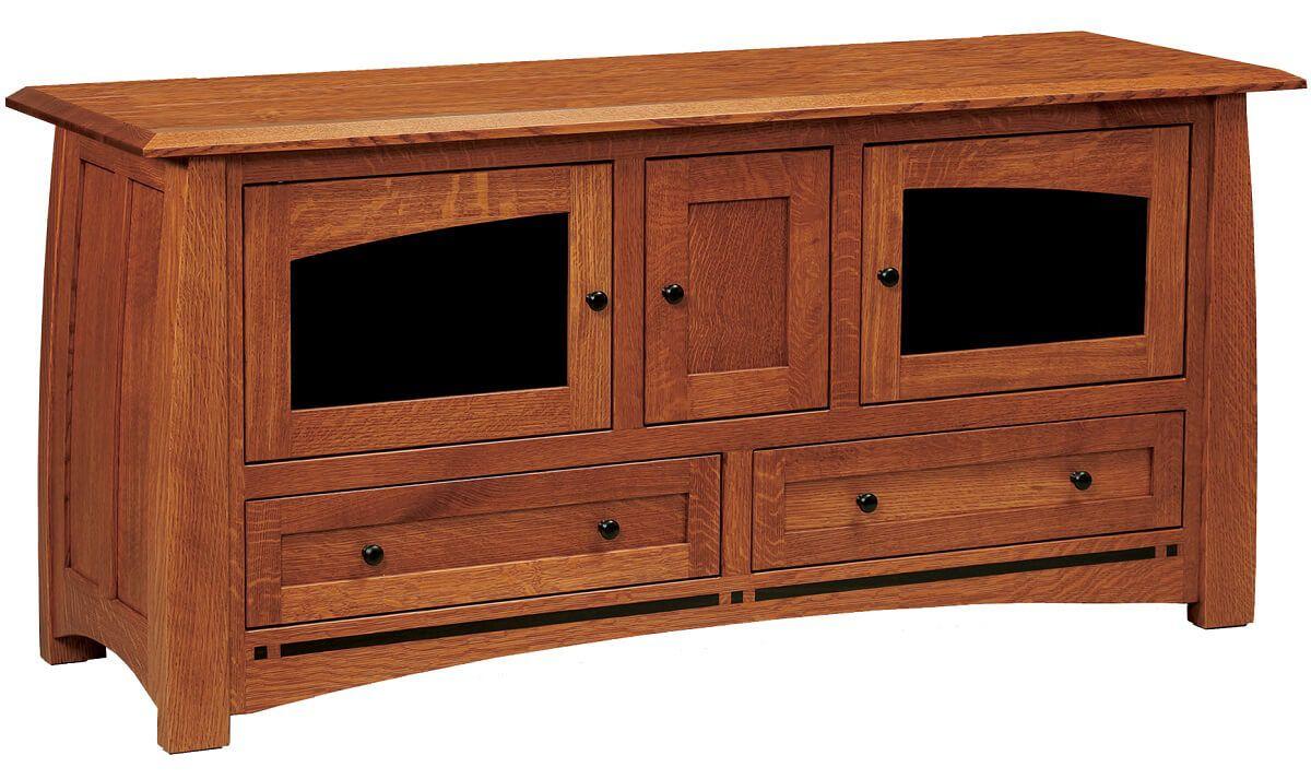 Coronado 3-Door TV Console