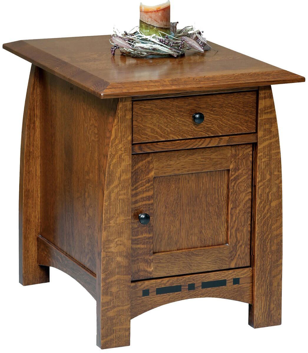Coronado Enclosed End Table
