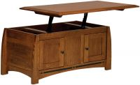 Coronado Enclosed Lift Top Coffee Table