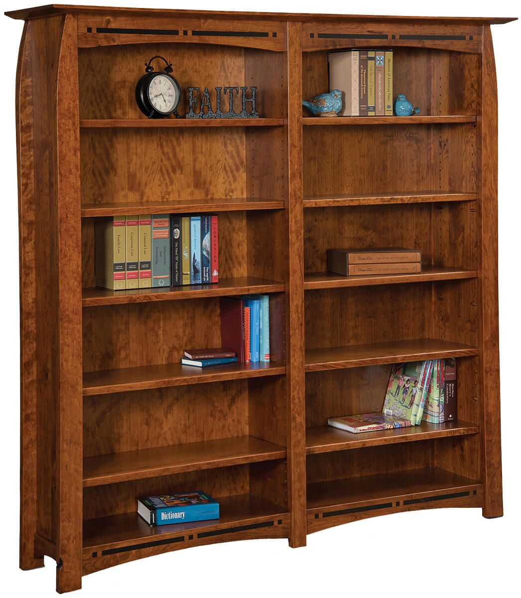 Coronado Double Bookcase
