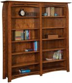 Coronado Executive Double Bookcase