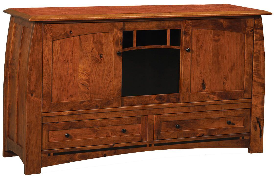 Coronado Tall 3-Door TV Console