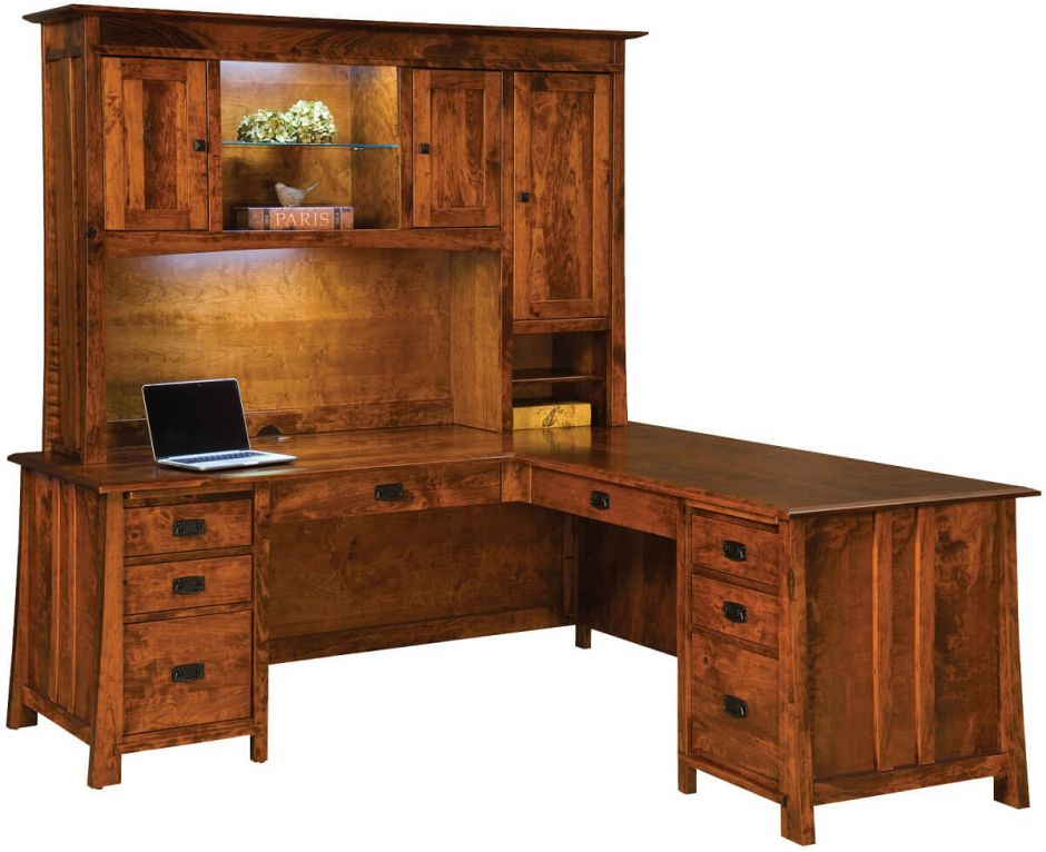 chic pertaining the to house plan shanty with desk rustic l shaped