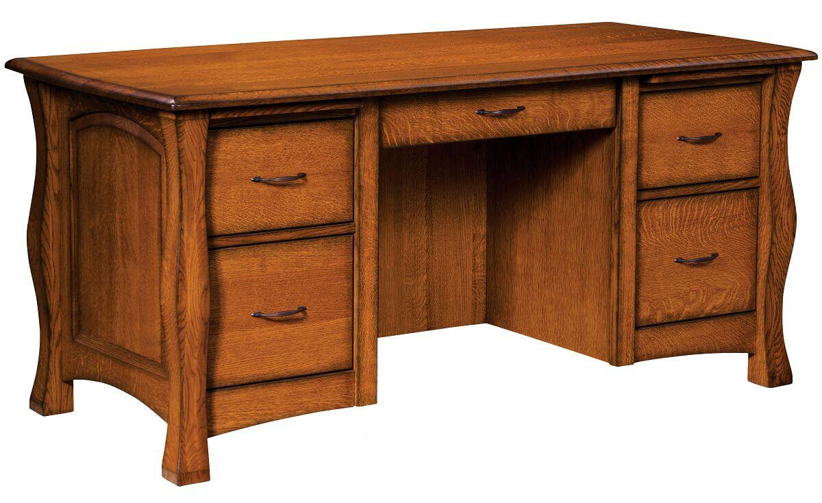 Edmond 5-Drawer Desk