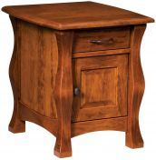 Edmond Enclosed End Table