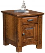 Fairbury Enclosed End Table