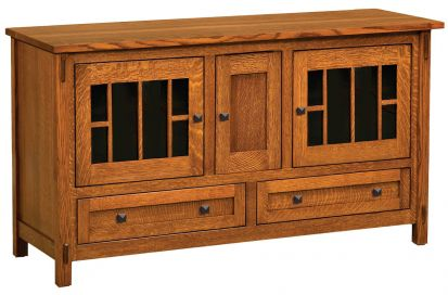 Good Hillsdale 3 Door TV Console