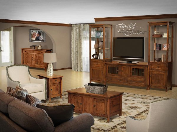 Hillsdale Solid Wood Living Room Set Countryside Amish Furniture