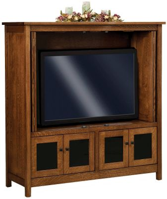 Hillsdale TV Cabinet Opened