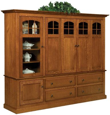 Litchfield Entertainment Center with Storage