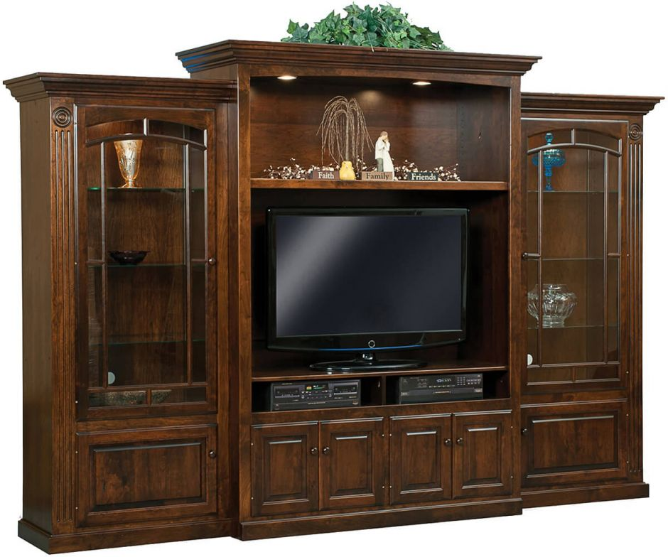 Lorena Media Entertainment Center Countryside Amish