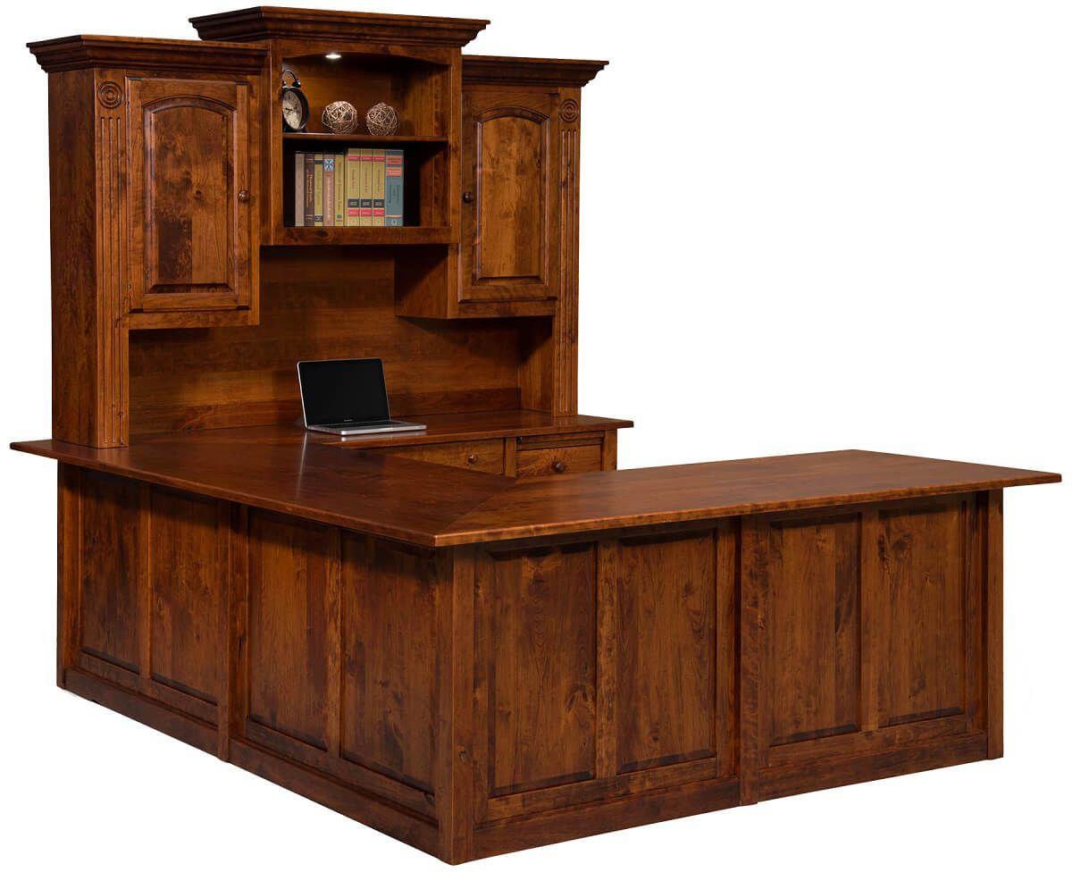 Amish U Shaped Desks