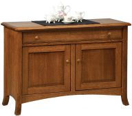 Plymouth Enclosed Console Table