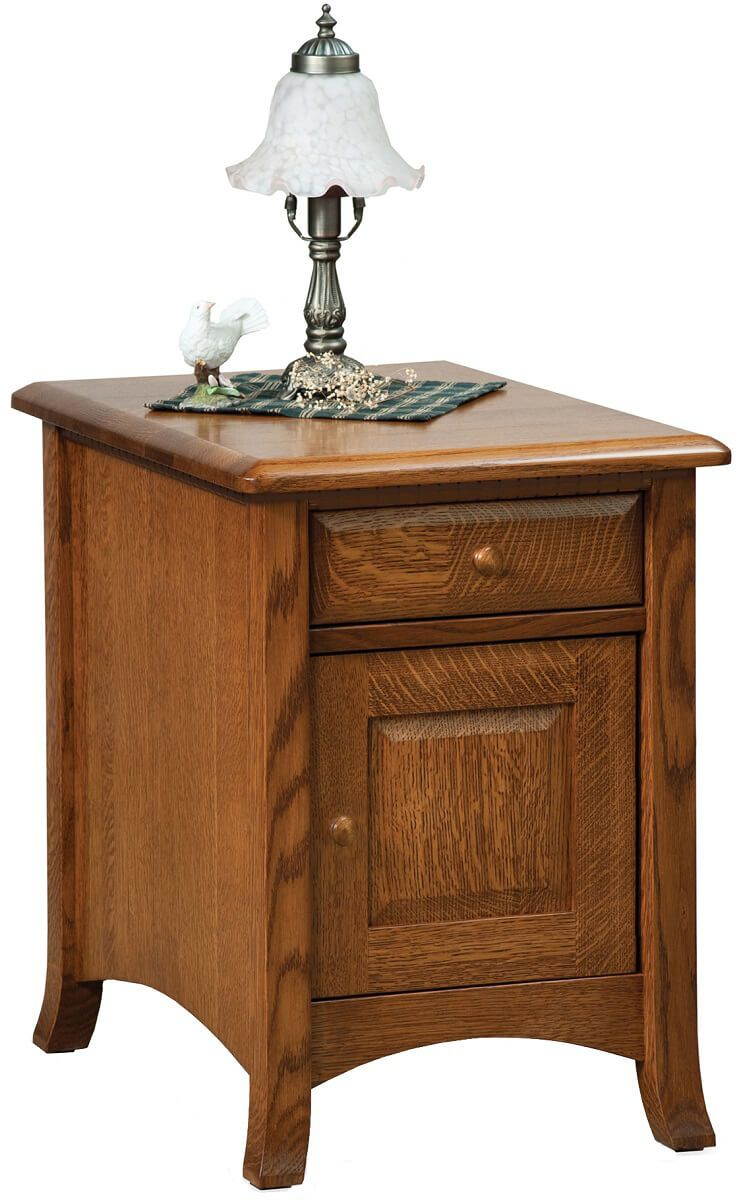 Plymouth Enclosed End Table
