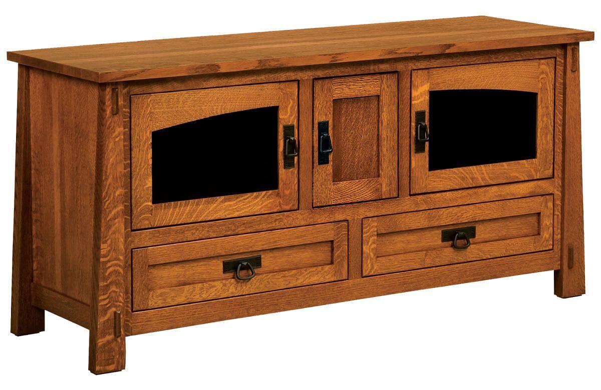 Tahari 3-Door TV Stand