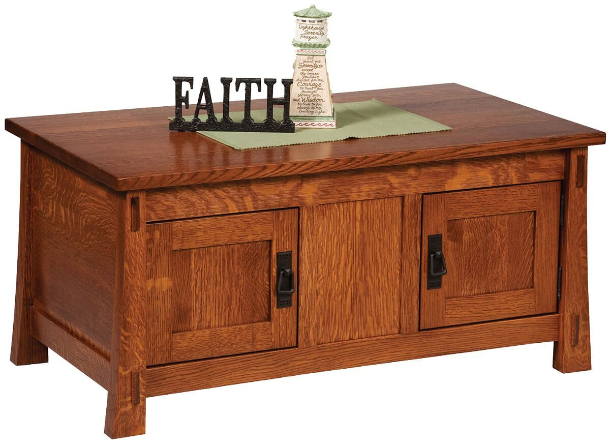 Tahari Enclosed Coffee Table