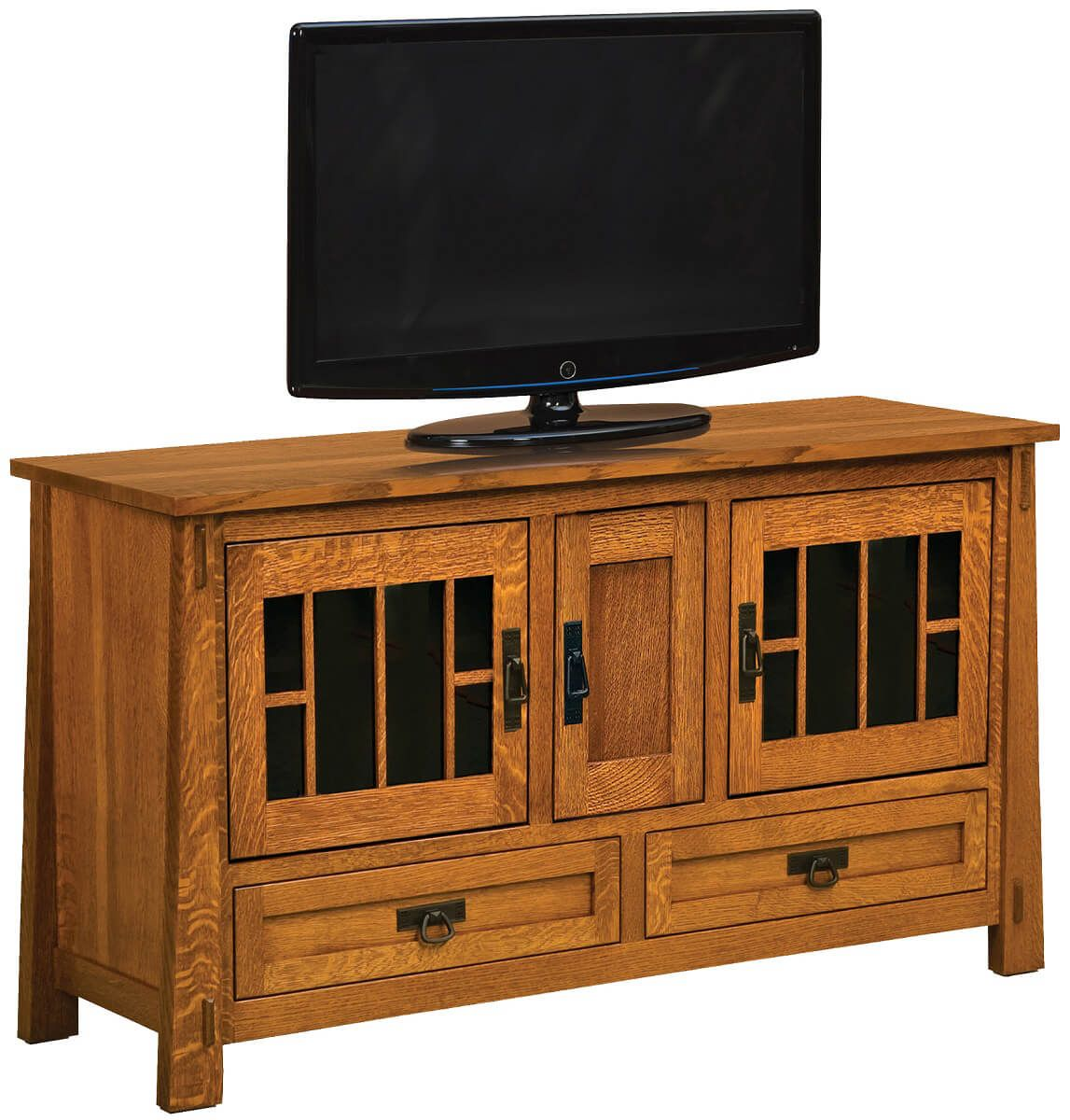 Tahari Tall 3-Door TV Console