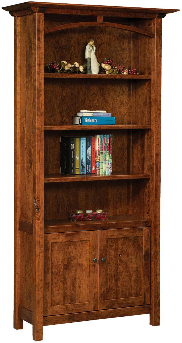 Tahoe Bookcase with Doors