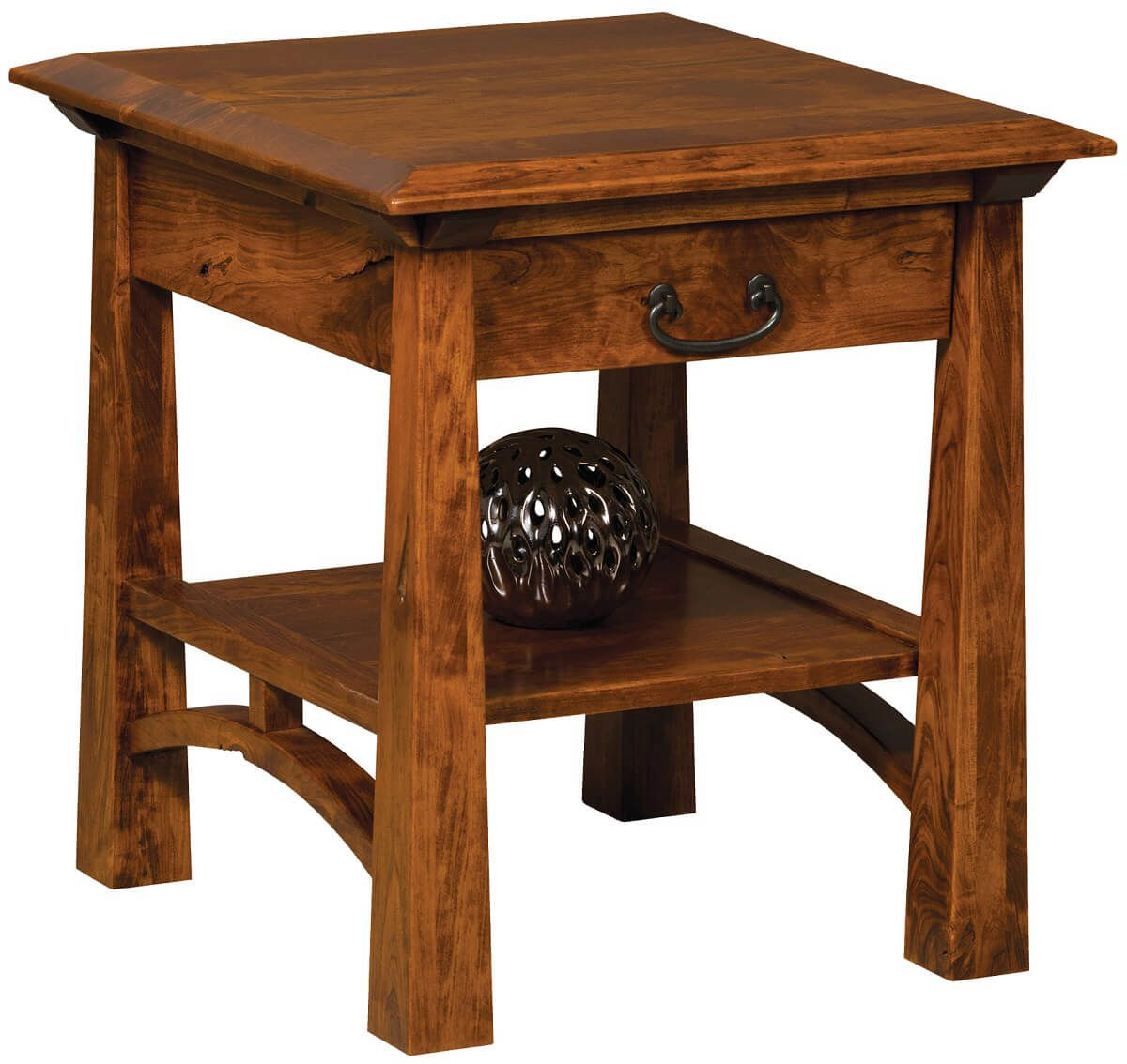 Tahoe End Table with Storage