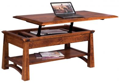 handmade wooden coffee tables - countryside amish furniture