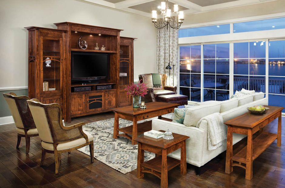 Tahoe Arts And Crafts Living Room Set Countryside Amish