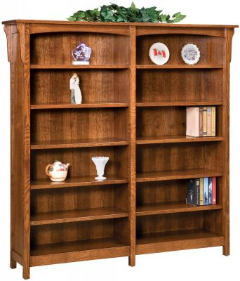 Tiro Executive Double Bookcase