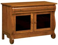 Wyndlot Sleigh 2-Door TV Console
