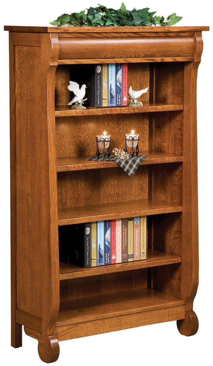 Wyndlot Sleigh Bookcase