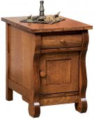 Wyndlot Sleigh Enclosed End Table