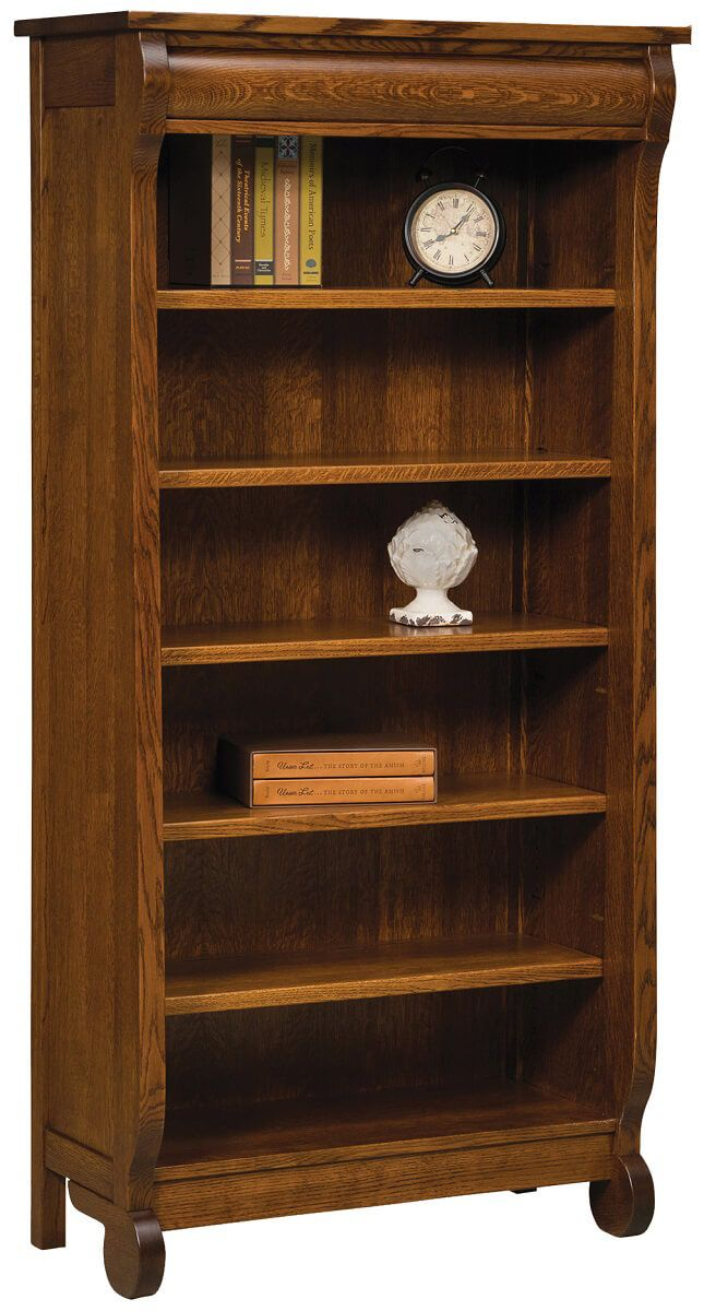 Wyndlot Sleigh Large Bookcase