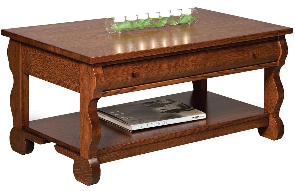 Wyndlot Sleigh Open Coffee Table
