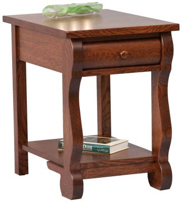 Wyndlot  Sleigh Open End Table