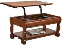 Wyndlot Sleigh Open Lift Top Coffee Table