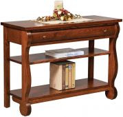 Wyndlot Sleigh Open Console Table