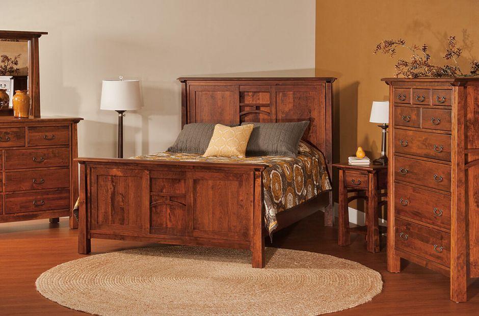 Bellevue Master Bedroom Set Countryside Amish Furniture