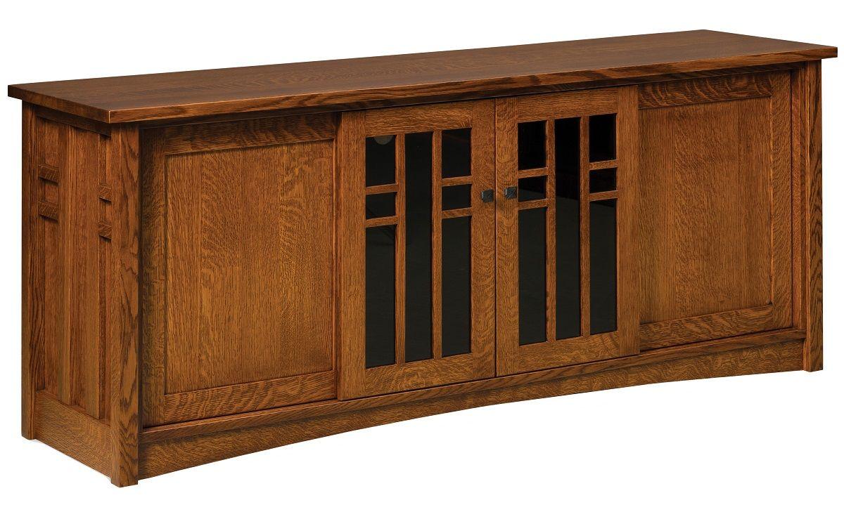 Quartersawn White Oak Cabinet