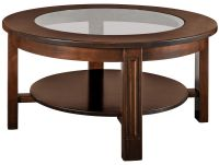Fairbury Glass Top Coffee Table