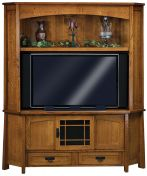 Tahari Corner Entertainment Center