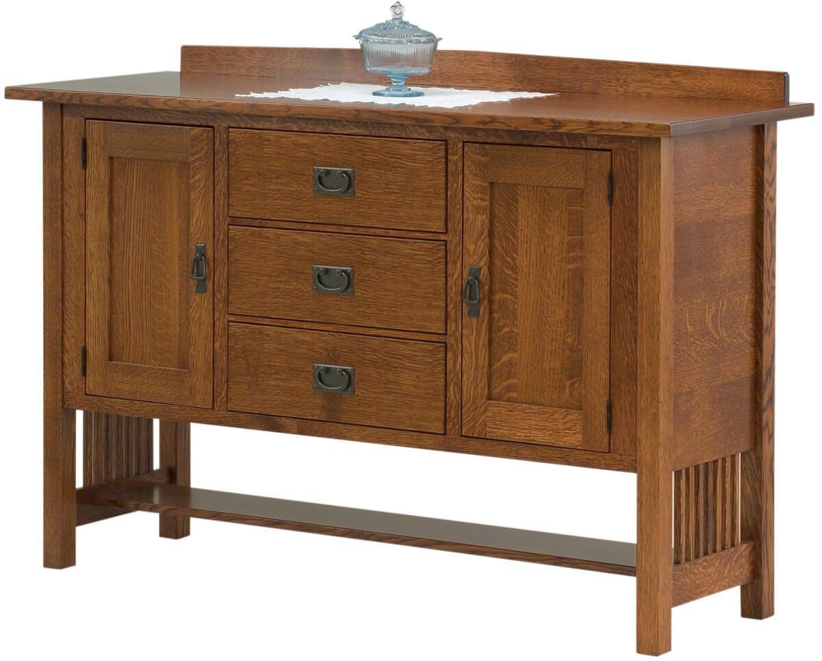 San Carlos Sideboard With Storage Countryside Amish Furniture