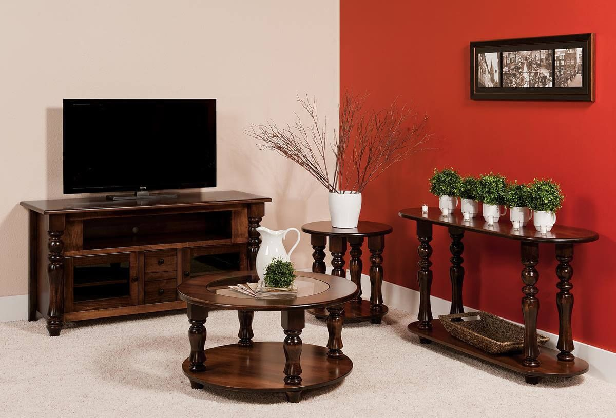 Church Hill Traditional Tv Cabinet Countryside Amish Furniture