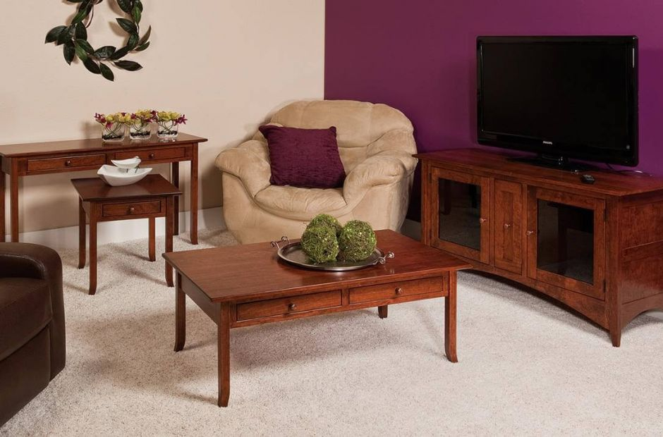 amish living room furniture penn shaker living room set countryside amish furniture 13656