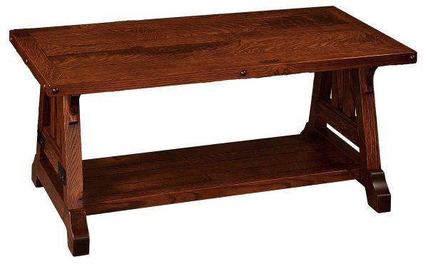 Amish Made Rustic Coffee Table
