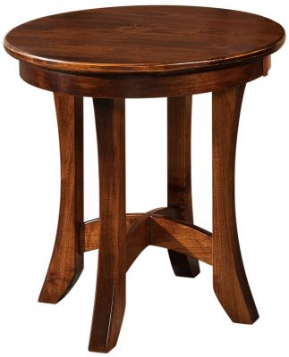 Capella Round End Table