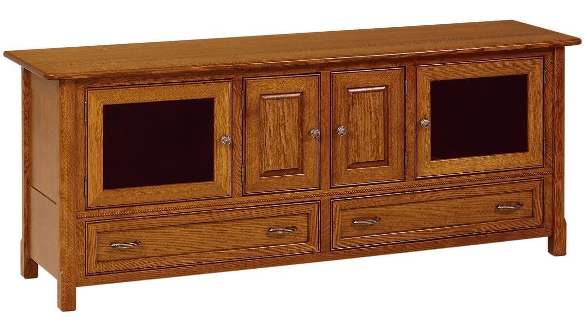 Dorsey 4-Door TV Stand