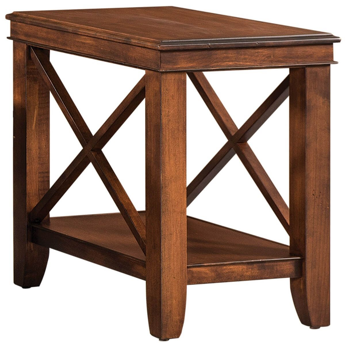 Wooden Narrow Side Table