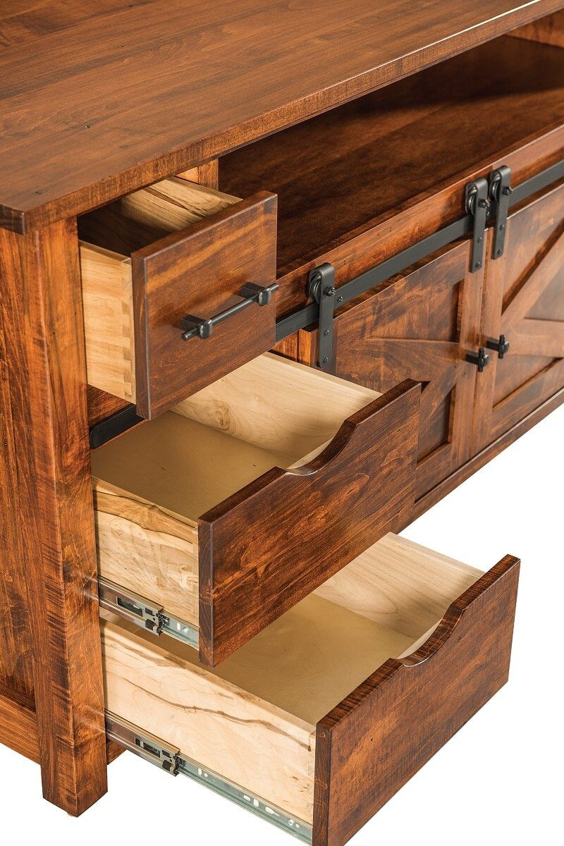 Full Extension Amish Made Drawers