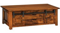 Nolan Barn Door Coffee Table