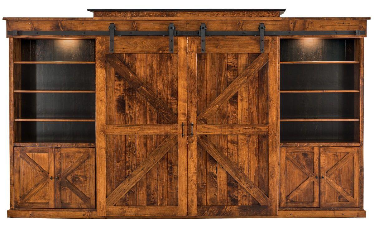 Barn Door Wall Unit