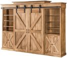 Nolan Barn Door TV Wall Unit