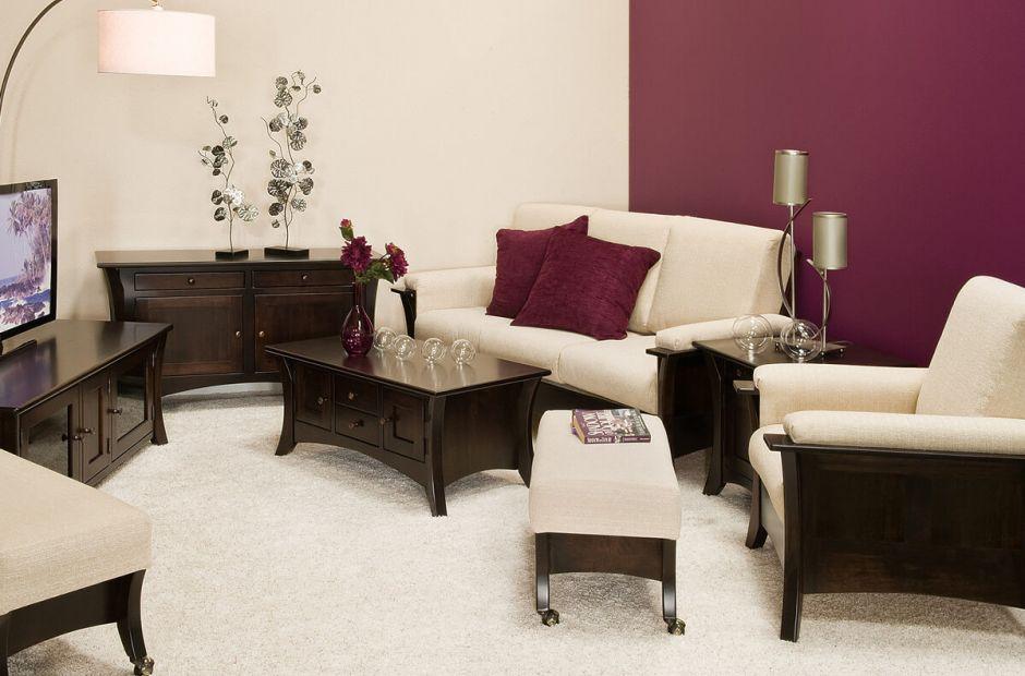 Shaker Style Living Room Furniture Rockefeller Set Image 1